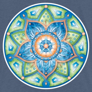 Mandala Printemps - T-shirt Premium Enfant