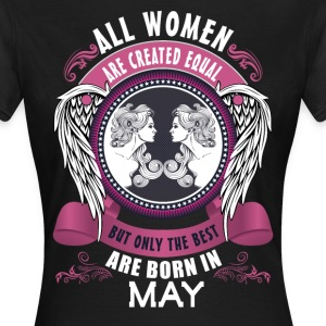 all men are created equal but only the best are b T-Shirts - Women's T-Shirt