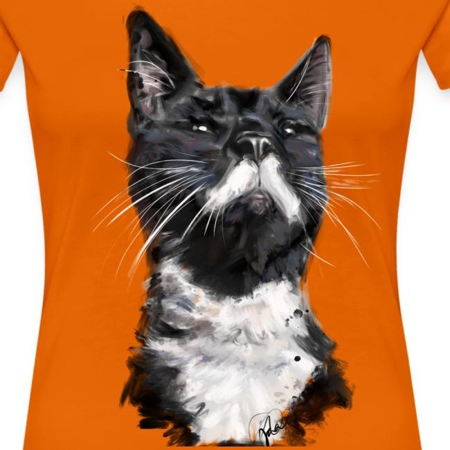 Stalin the Cat Watercolour Women's Tee
