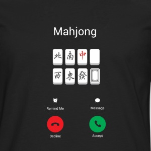 Mahjong calls Long sleeve shirts - Men's Premium Longsleeve Shirt