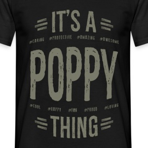 Poppy T-shirts Gifts - Men's T-Shirt