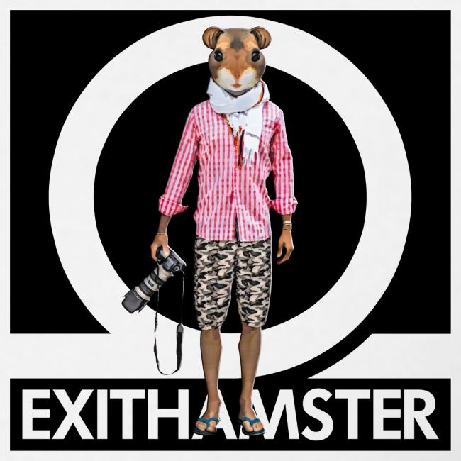 HAMSTER LOGO ✦ T-SHIRT MEN