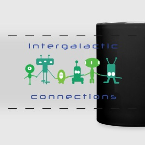 Aliens Connection Mug - Full Color Panoramic Mug