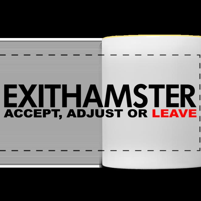 EXITHAMSTER LEAVE ✦ MUG