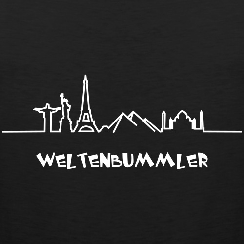 Einmal um die Welt// Shirt-Weltreise// Weltskyline