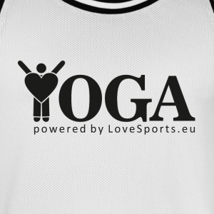 YOGA powered by LoveSports - Männer Basketball-Trikot