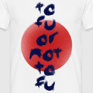 Tofu or Not Tofu - Men's T-Shirt
