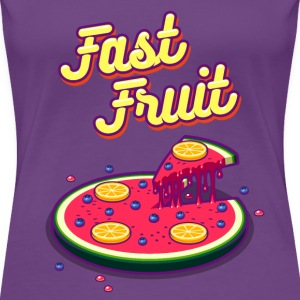 Fast Fruit - Women's Premium T-Shirt
