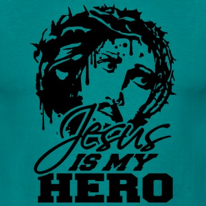 Christ cross logo design cool text jesus christ T-Shirts - Men's T-Shirt