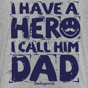 SmileyWorld I have a hero I call Him Dad - Premium T-skjorte for barn