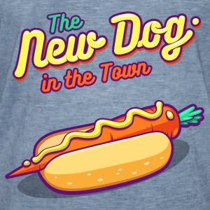 New Dog in Town - Men's Vintage T-Shirt