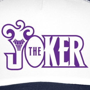 Batman The Joker Snapback Cap Typo - Trucker Cap