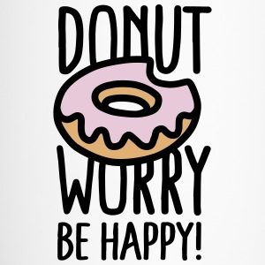 Donut worry, be happy! Krus & tilbehør - Termokrus