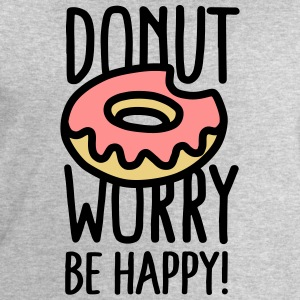 Donut worry, be happy! Sweat-shirts - Sweat-shirt Homme Stanley & Stella