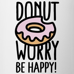 Donut worry, be happy! Mokken & toebehoor - Mok