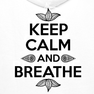 Keep calm and breathe Pullover & Hoodies - Männer Premium Hoodie