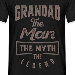 Grandad The Man | T-shirt Gift! - Men's T-Shirt