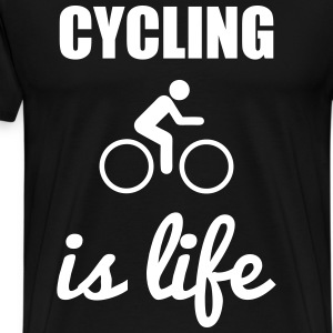 cycling is life - Cycling t-shirt - Men's Premium T-Shirt