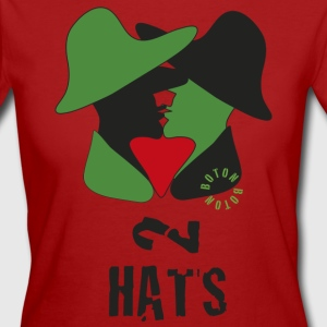 2 Hats - Camiseta ecológica mujer