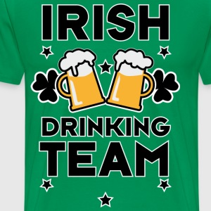 Irish Drinking team St. Patrick's Day Beer T-Shirt - Männer Premium T-Shirt