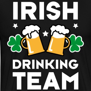 46 Irish Drinking Team Try to keep up T-Shirts - Männer Premium T-Shirt
