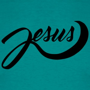 Coolform freak text scripture jesus cross life bel T-Shirts - Men's T-Shirt