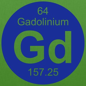 Gadolinium (Gd) (element 64) - EarthPositive Tote Bag