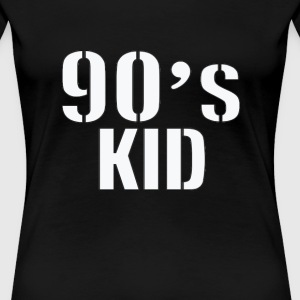 90's KID T-Shirts - Frauen Premium T-Shirt