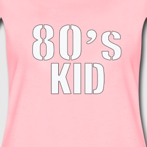 80's  KID T-Shirts - Frauen Premium T-Shirt