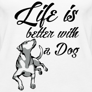 Dog Life Tops - Frauen Premium Tank Top
