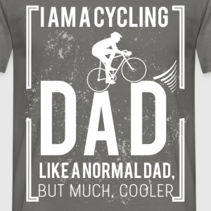 I am a cycling dad, like a normal dad, but much co - Men's T-Shirt
