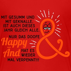 Silvester - Neujahr - Happy End - Spruch - 3C T-Shirts - Teenager Premium T-Shirt