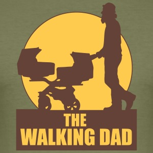THE WALKING DAD - TWO - TWINNS T-Shirts - Männer Slim Fit T-Shirt