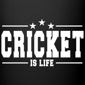 cricket is life 1 Krus & tilbehør - Ensfarvet krus