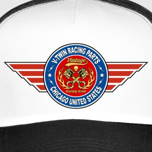 motorcycles racing parts 04 Casquettes et bonnets - Trucker Cap