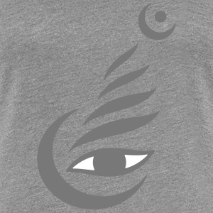 Meditation-Eye 3 - Women's Premium T-Shirt