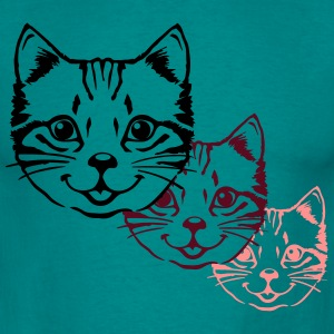 Cat Baby nuttet killing design T-shirts - Herre-T-shirt