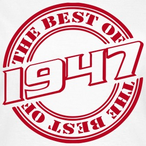 1947 the best of T-Shirts - Frauen T-Shirt