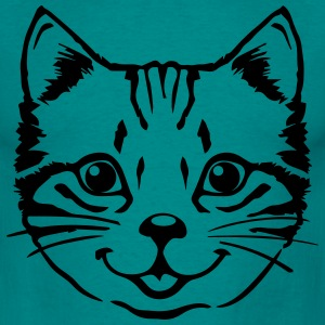 Cat Baby sød killing T-shirts - Herre-T-shirt