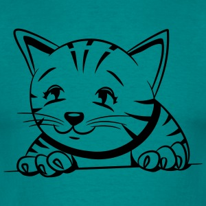 Cat Baby sød T-shirts - Herre-T-shirt