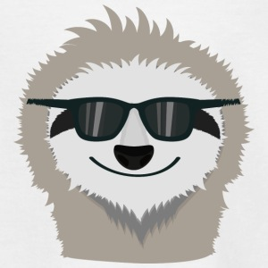 Sloth with sunglasses Shirts - Kids' T-Shirt