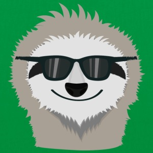 Sloth with sunglasses Bags & Backpacks - Tote Bag