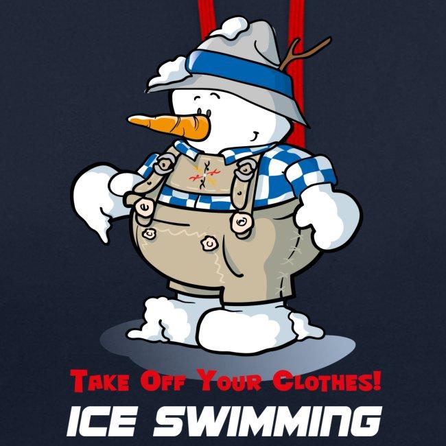 Ice Swimming - Herren Hoody