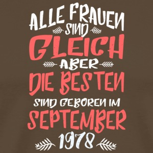 September 1978 - Männer Premium T-Shirt