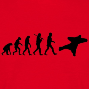 Evolution of wingsuit T-Shirts - Männer T-Shirt