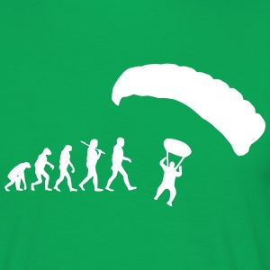 Evolution of fallschirmspringen T-Shirts - Männer T-Shirt
