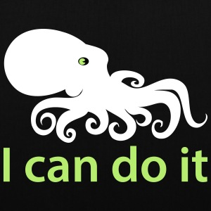I can do it - Stoffbeutel