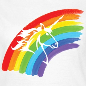 Unicorn Rainbow T-shirts - T-shirt dam