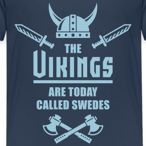 The Vikings Are Today Called Swedes T-shirts - Premium-T-shirt tonåring