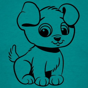 Chiens babys doux Tee shirts - T-shirt Homme